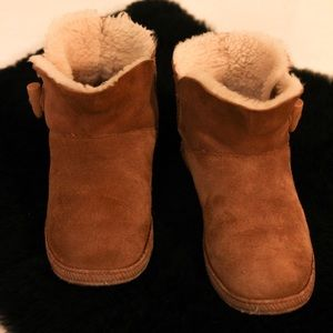 Camel UGG Ankle Booties